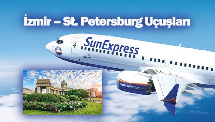 SunExpress St. Petersburg uçuşları